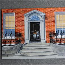 11 Merrion Square North. 400mm x 300mm