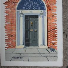 55 Merrion Square South 300mm x 400mm SOLD