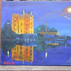 Bunratty Castle Co clare at night. 20