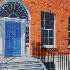 Daniel O'Connells Hall Door Merrion Square
