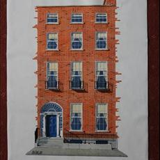 Daniel O'Connell's House Merrion Square South. 550mm x 800mm.