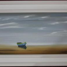 940mm x 400mm Oils on canvas Satin varnish finish. Tranquility 14