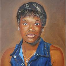 Olawunmi commissioned portrait. NFS
