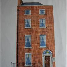 54 Parnell Square. The Galway Arms. 550mm x 1200mm.