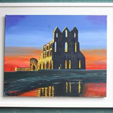 Whitby Abbey Yorkshire England. 20