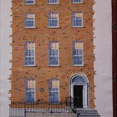 William Butler Yeats house Merrion Square South 550mm x 800mm