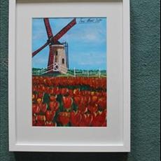 Windmill in Holland No 1 8